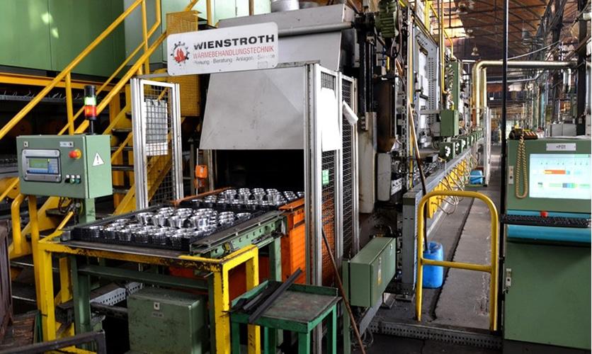 Maszyny do obróbki cieplnej firmy Wienstroth