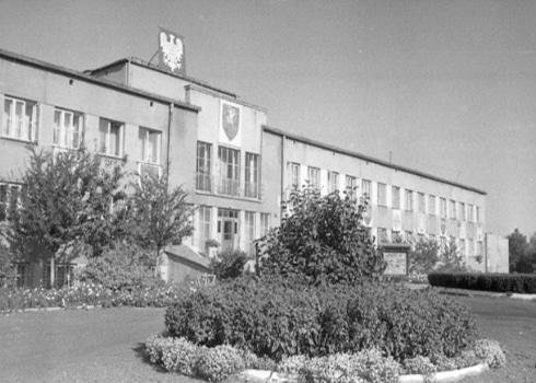 Zdjęcie Fabryki Łożysk Tocznych z 1948 roku