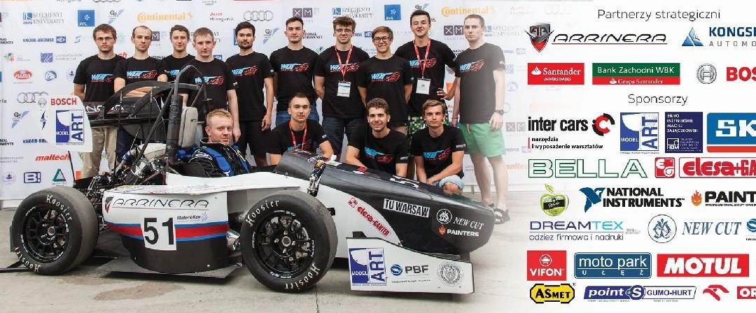 FŁT – Kraśnik S.A. wspiera zespół WUT Racing